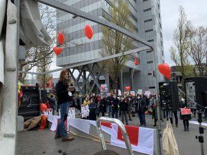 Kundgebung 1. Mai Berlin